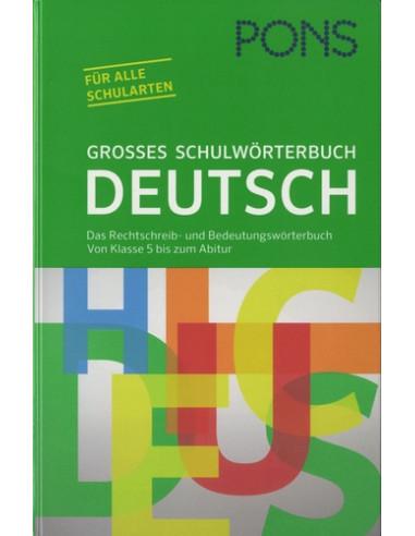 PONS Großes Schulwörterbuch Deutsc E